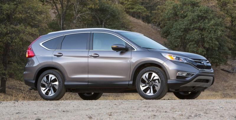 2015 Honda CR-V Revealed With More Torque, More Tech and New Touring Trim 30