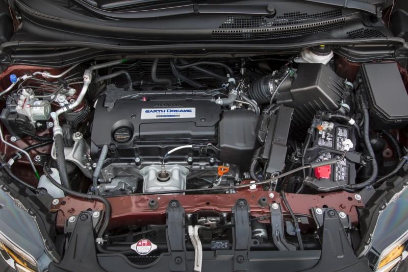 2015 Honda CR-V Revealed With More Torque, More Tech and New Touring Trim 9