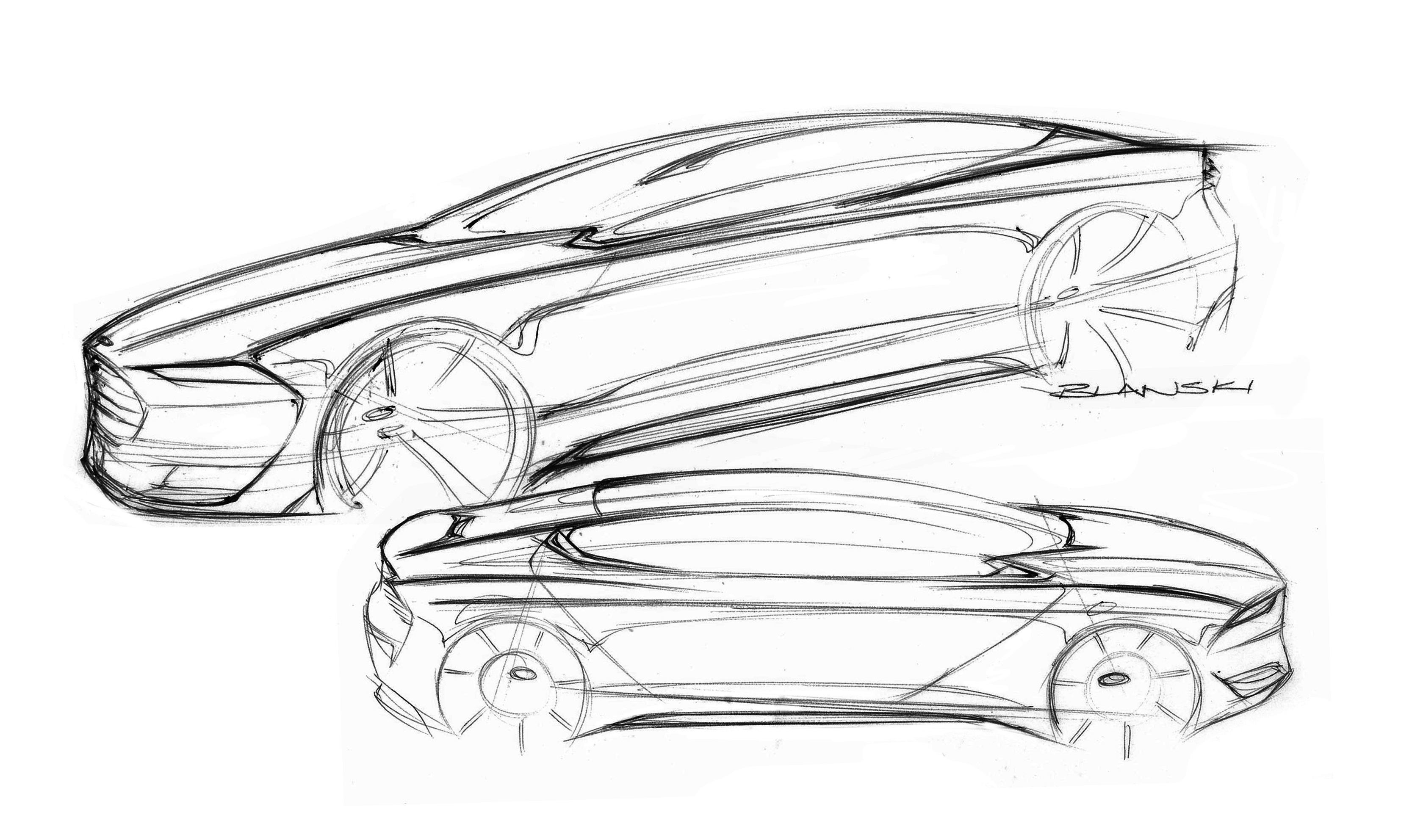 Ford Advanced Design Sketches May Show Direction Of