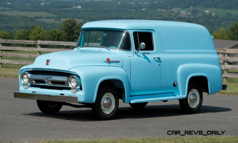 1956 Ford F-100 Panel Truck 1