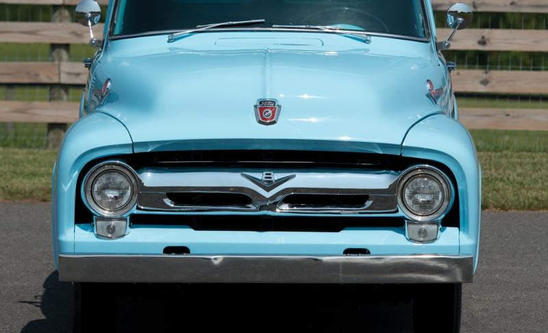 1956 Ford F-100 Panel Truck 12