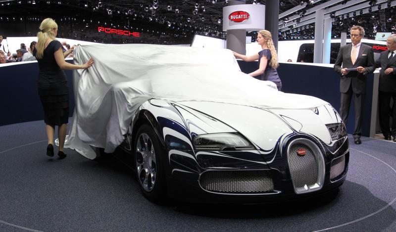 2011 Bugatti Veyron L'Or Blanc 33
