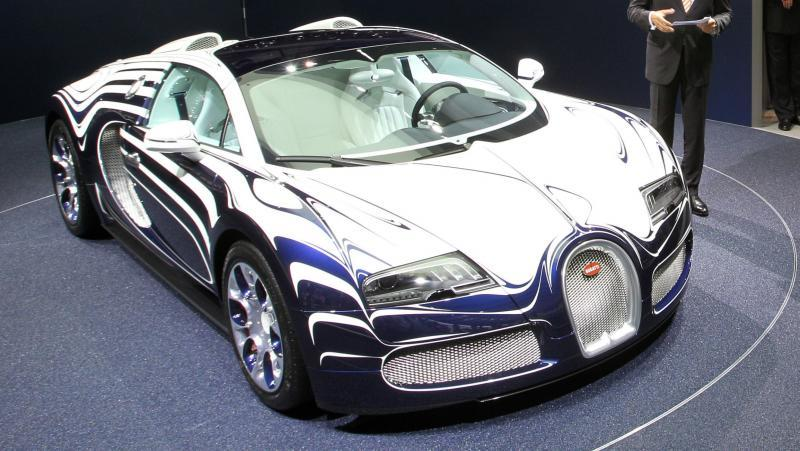 2011 Bugatti Veyron L'Or Blanc 35
