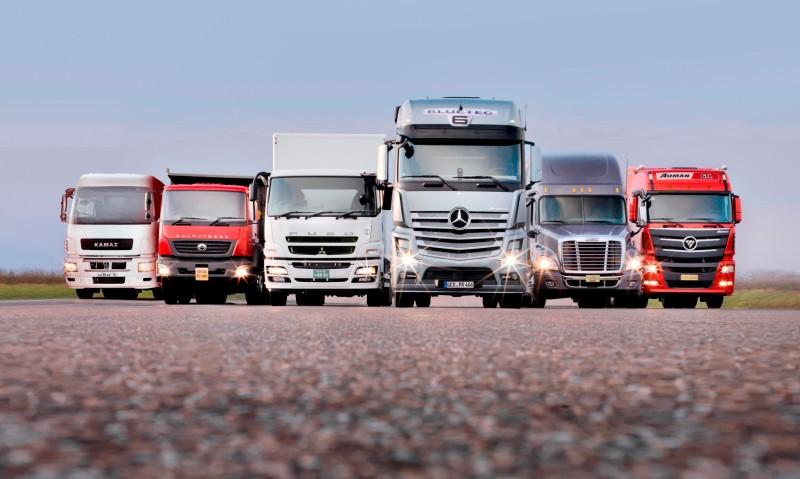 2014 BharatBenz Trucks 8