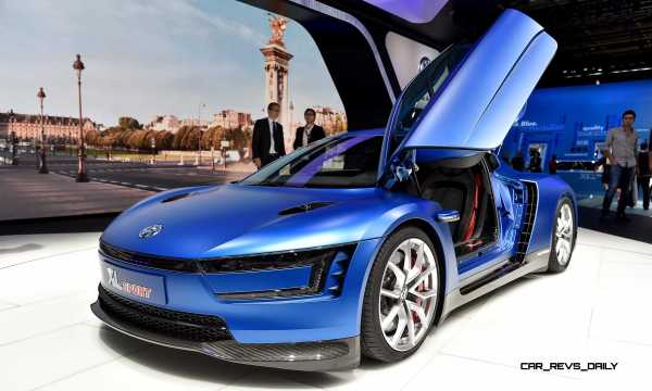2014 Volkswagen XL Sport Concept Makes One Seriously Sexy ...
