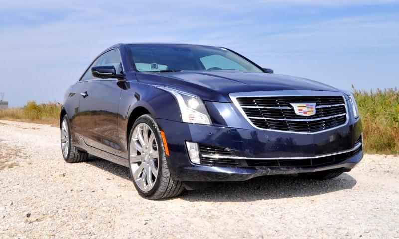 2015 Cadillac ATS Coupe 3.6 AWD 10