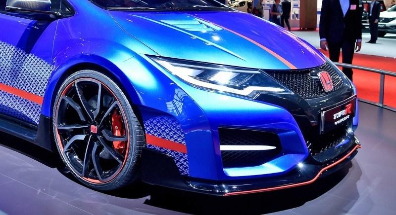 2015 Honda Civic Type R Concept Two Makes Paris Debut 2