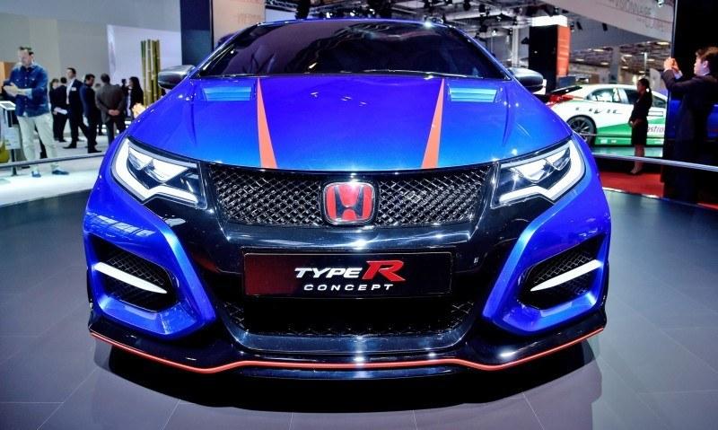 2015 Honda Civic Type R Concept Two Makes Paris Debut 3