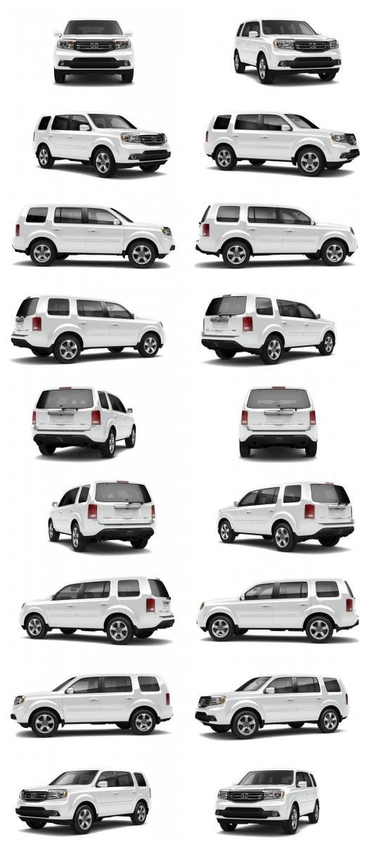 2015 Honda Pilot Colors 130-tile taffeta white