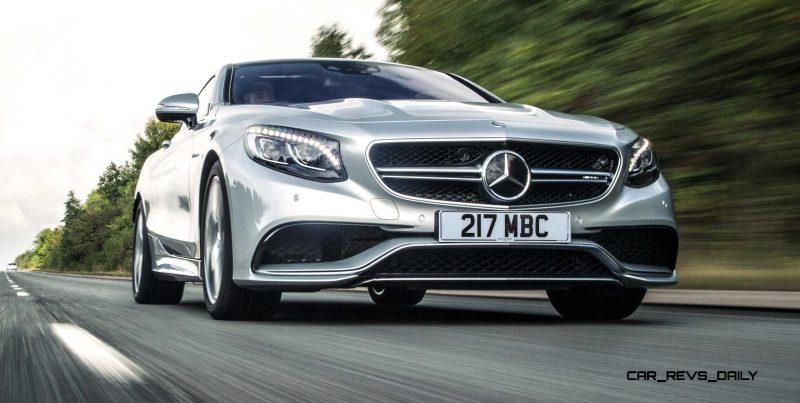 2015 Mercedes-Benz S63 AMG Coupe 4