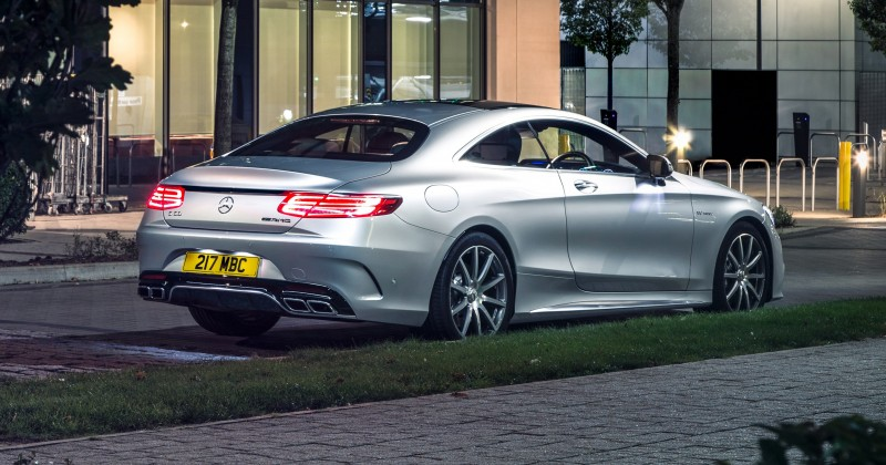 2015 Mercedes-Benz S63 AMG Coupe 9