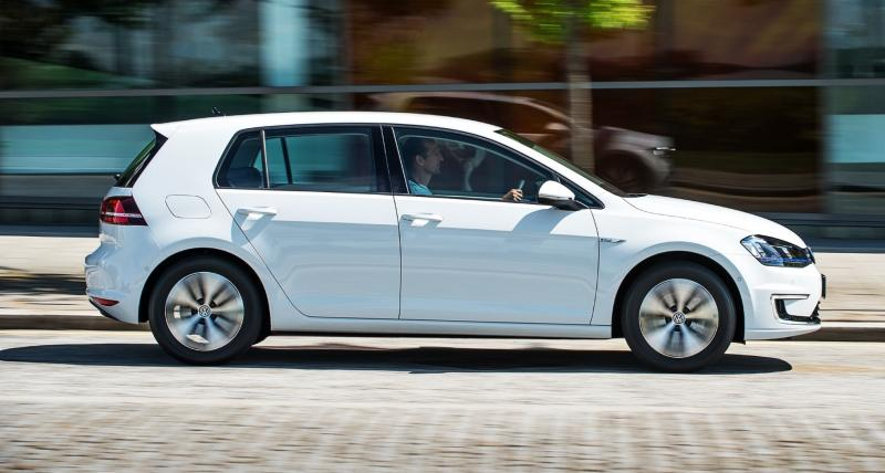 2015 Volkswagen e-Golf 10