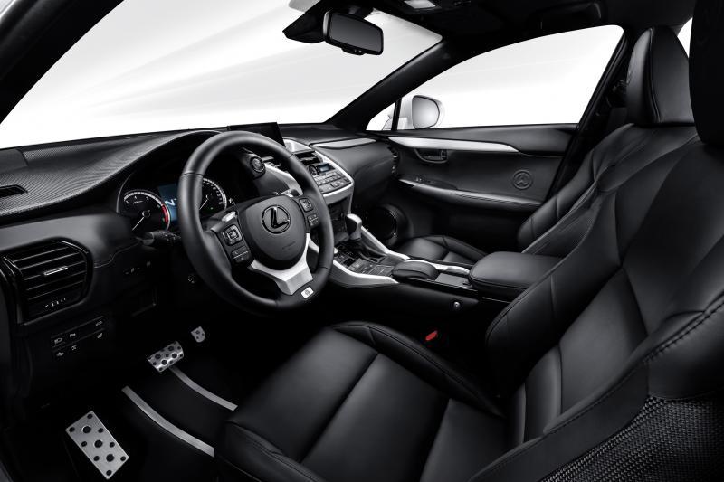 2016 Lexus NX-F Concept 8