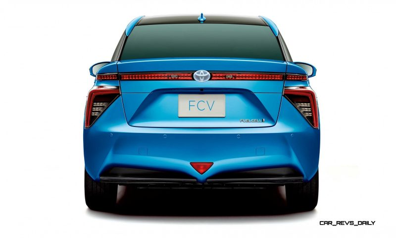 2016 Toyota FCV Production Car 18