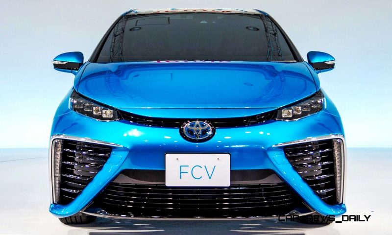 2016 Toyota FCV Production Car 31
