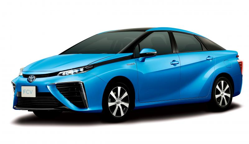 2016 Toyota FCV Production Car 34