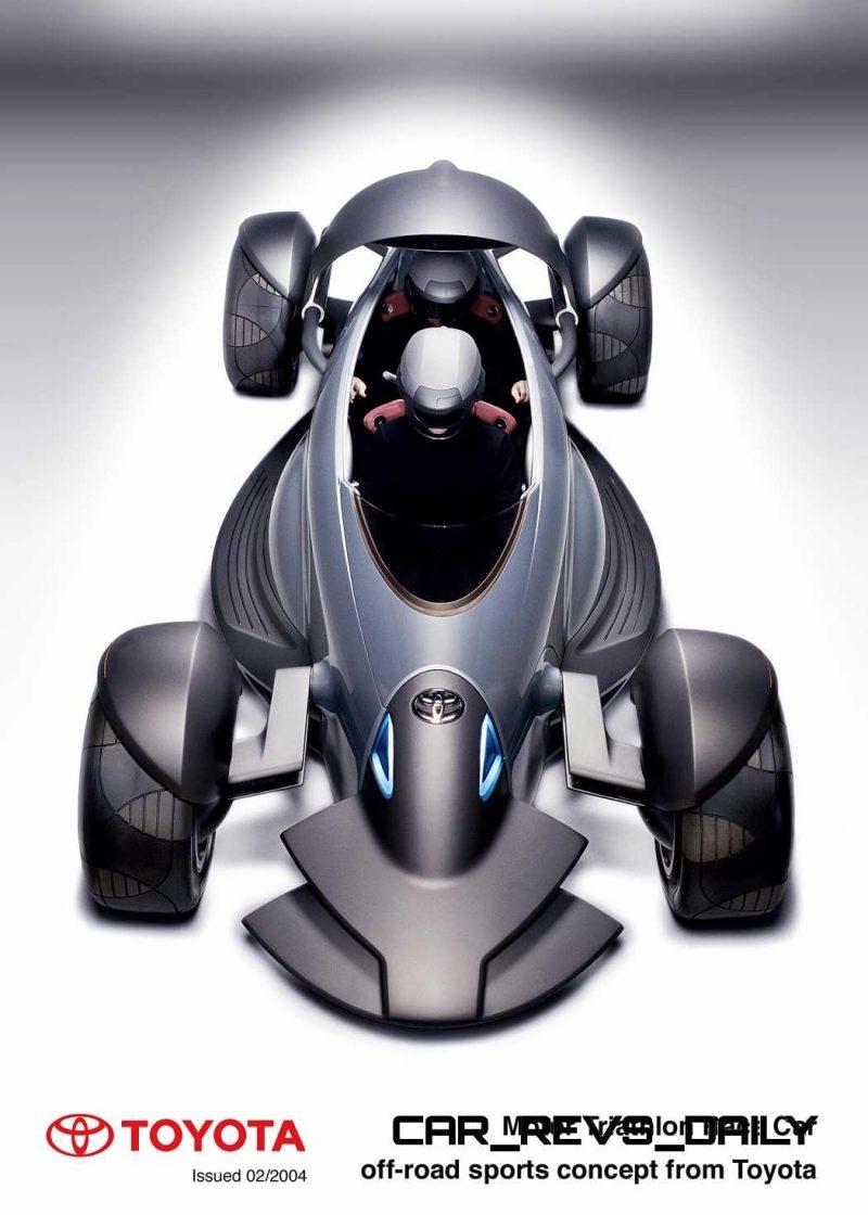 Concept Flashback - 2004 Toyota MTRC 12