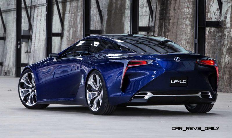 Concept Flashback - Lexus LF-LC in 77 High-Res Photos - Future LF-B 21