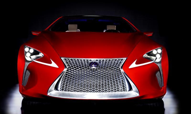 Concept Flashback - Lexus LF-LC in 77 High-Res Photos - Future LF-B 29