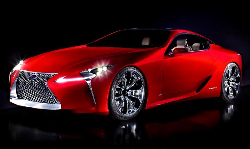 Concept Flashback - Lexus LF-LC in 77 High-Res Photos - Future LF-B 30