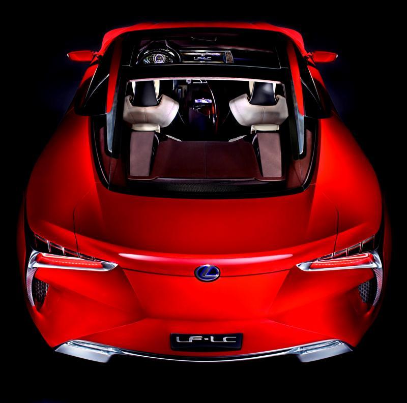 Concept Flashback - Lexus LF-LC in 77 High-Res Photos - Future LF-B 31