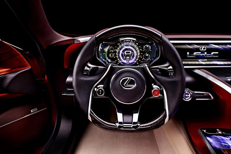 Concept Flashback - Lexus LF-LC in 77 High-Res Photos - Future LF-B 46