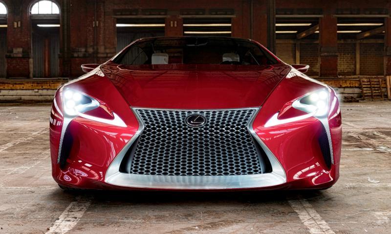 Concept Flashback - Lexus LF-LC in 77 High-Res Photos - Future LF-B 62
