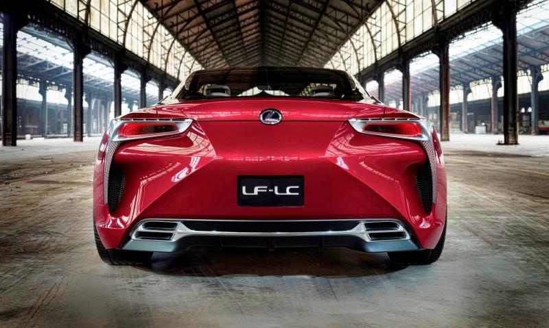 Concept Flashback - Lexus LF-LC in 77 High-Res Photos - Future LF-B 72