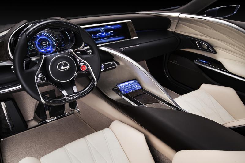Concept Flashback - Lexus LF-LC in 77 High-Res Photos - Future LF-B 9