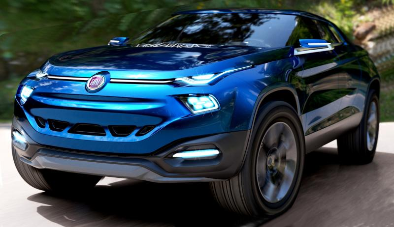 2014 Fiat Fcc4 Concept For Sao Paolo Is Samba Rambo Suv