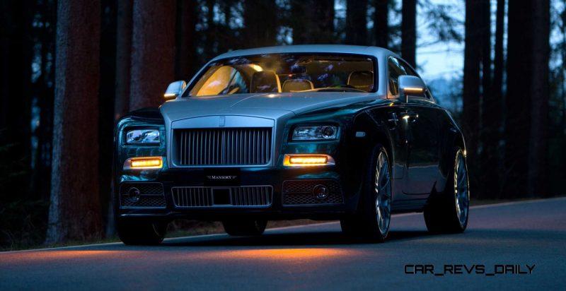 Mansory Bentley Flying Spur versus Mansory Rolls-Royce Wraith 6