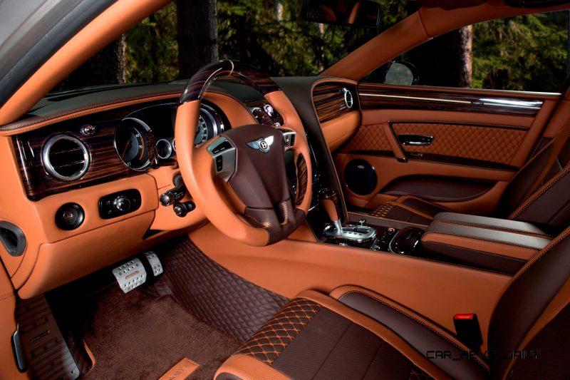 Mansory Bentley Flying Spur versus Mansory Rolls-Royce Wraith 9