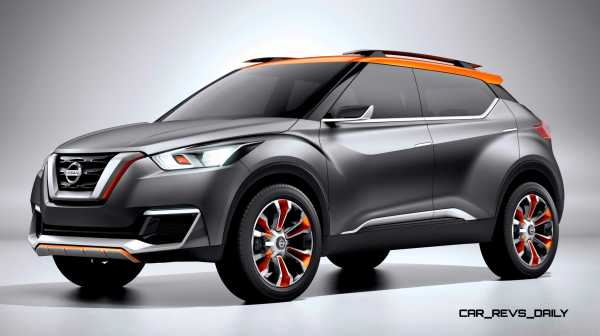 2014 Nissan Kicks Concept Is New Sao Paolo OffRoad Crossover