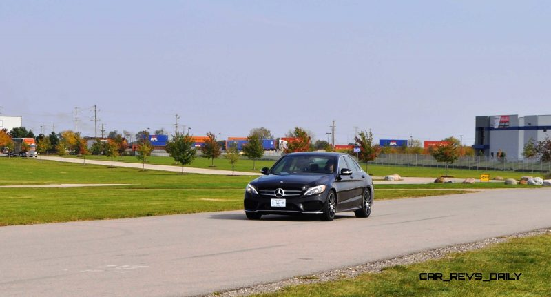 Road Test Review - 2015 Mercedes-Benz C300 4Matic Sport 55