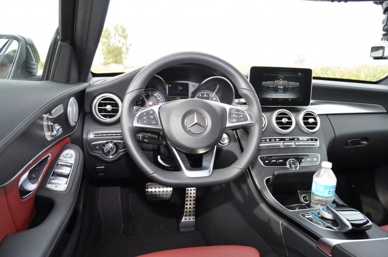 Road Test Review - 2015 Mercedes-Benz C300 4Matic Sport 97