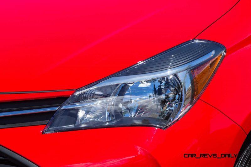 Road Test Review - 2015 Toyota Yaris SE 5-Door 12