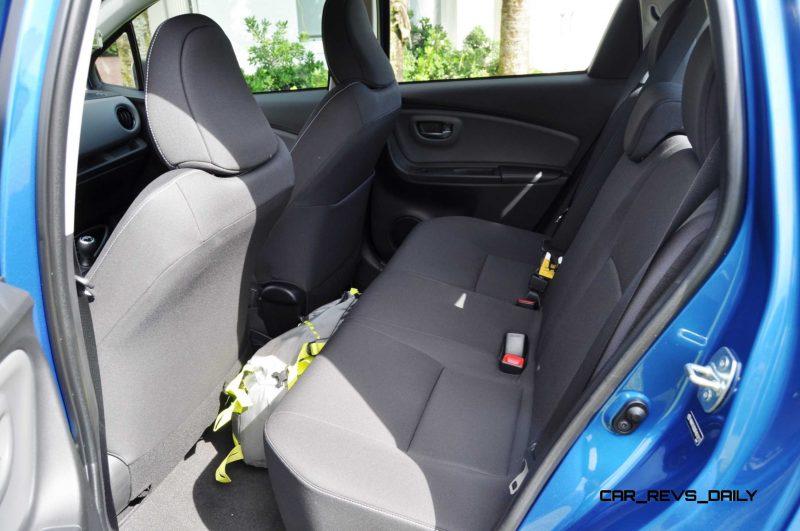 Road Test Review - 2015 Toyota Yaris SE 5-Door 43