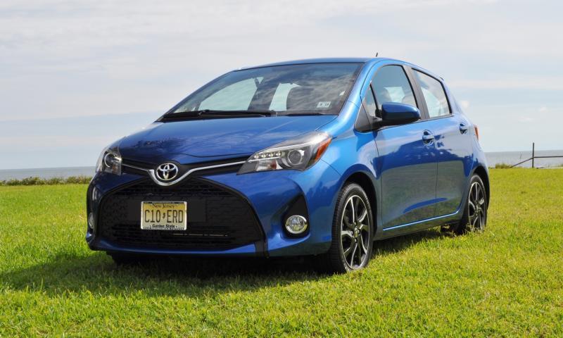 Road Test Review - 2015 Toyota Yaris SE 5-Door 53