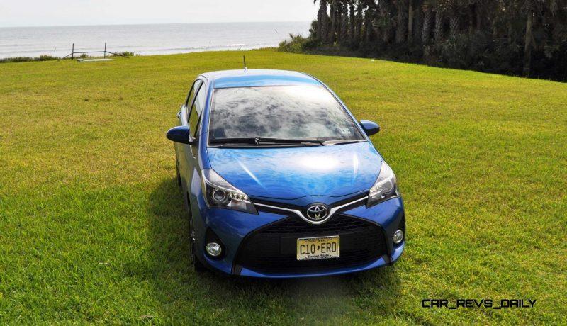 Road Test Review - 2015 Toyota Yaris SE 5-Door 56