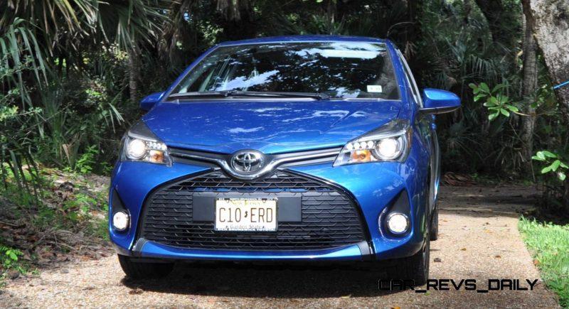 Road Test Review - 2015 Toyota Yaris SE 5-Door 84