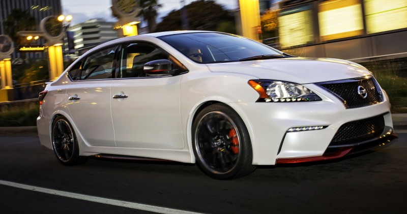Nissan Sentra NISMO Concepto prueba una mayor expansión en la l