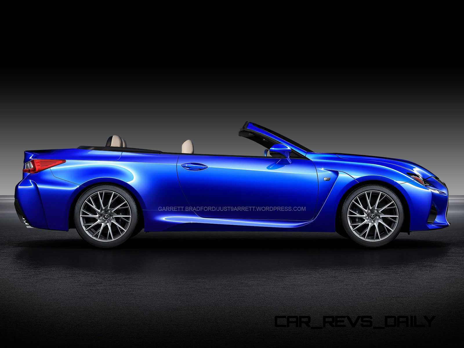 Holy Wow Lexus LF C2 Teasing RC350 Convertible Ahead of LA Show