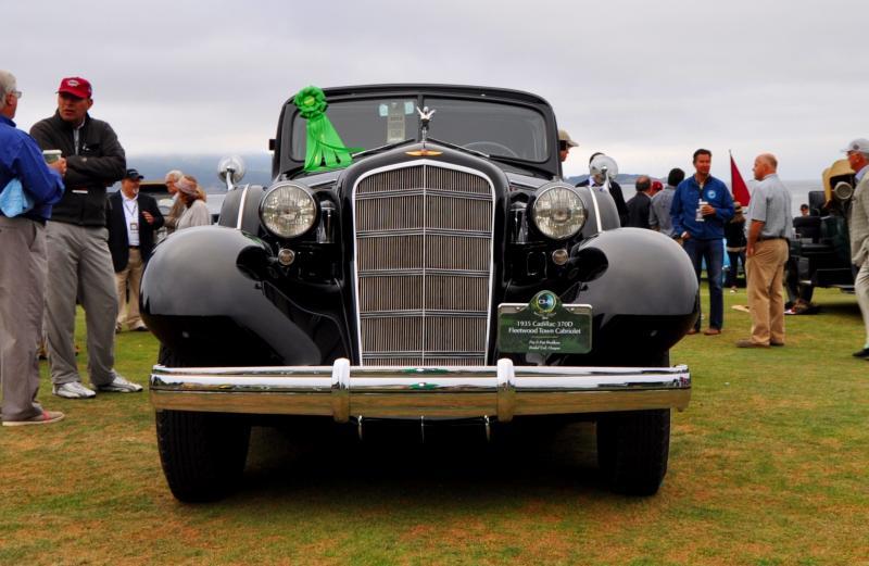 1935 Cadillac 370D Fleetwood V12 Town Cabriolet 14