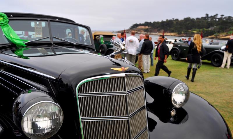 1935 Cadillac 370D Fleetwood V12 Town Cabriolet 23