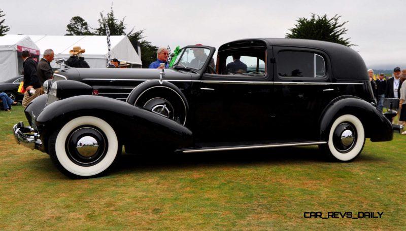 1935 Cadillac 370D Fleetwood V12 Town Cabriolet 3