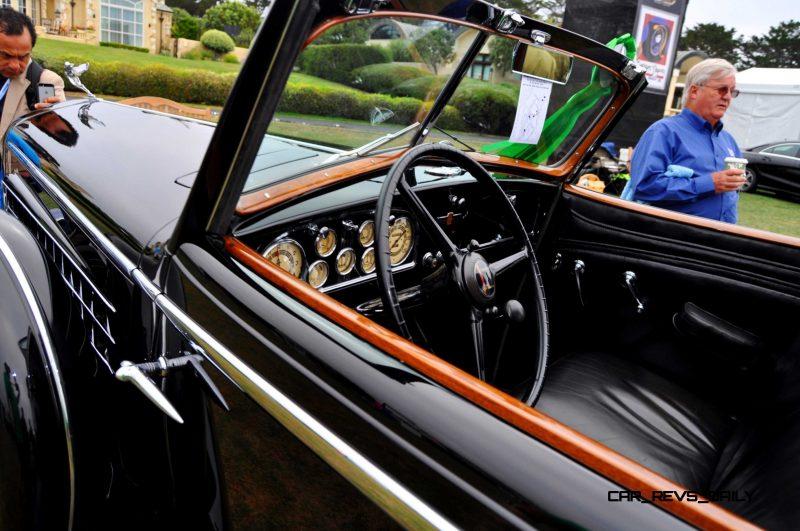 1935 Cadillac 370D Fleetwood V12 Town Cabriolet 32