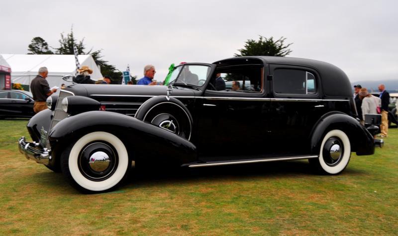 1935 Cadillac 370D Fleetwood V12 Town Cabriolet 4
