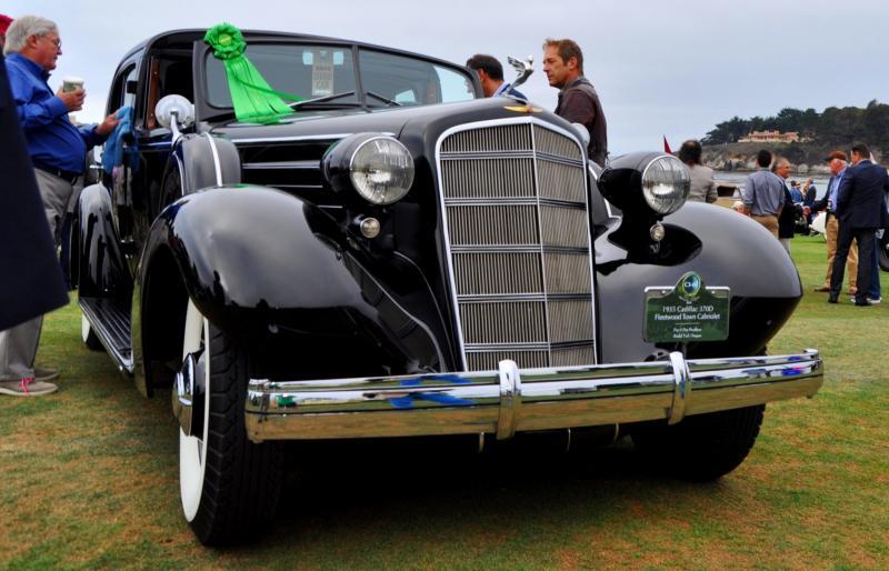 1935 Cadillac 370D Fleetwood V12 Town Cabriolet 40