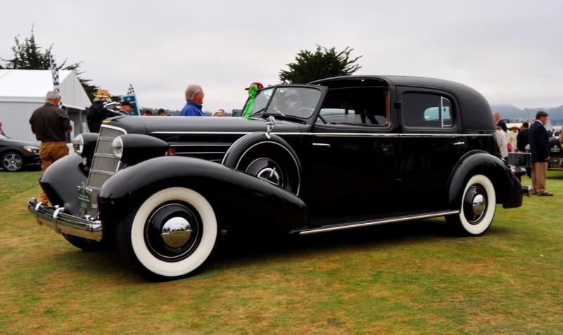 1935 Cadillac 370D Fleetwood V12 Town Cabriolet 5