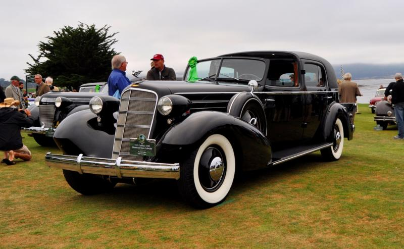 1935 Cadillac 370D Fleetwood V12 Town Cabriolet 8